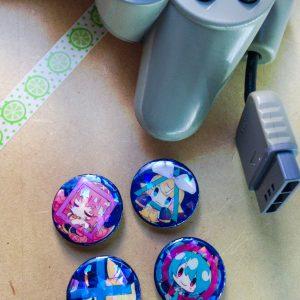 [Badges][SET]PS Buttons