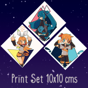 [Prints][Set Only] Right Middle Left Prototype