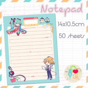 [PREORDER] Notepad: dynaMic Letter